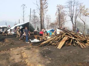 Fires in Burmese refugee camps in Thailand fuel pressure to return home