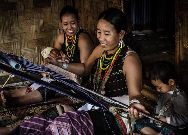 WEAVE and weaving, an oasis of hope